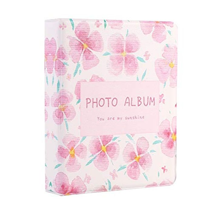64 Pockets Mini Photo Album 2x3inch