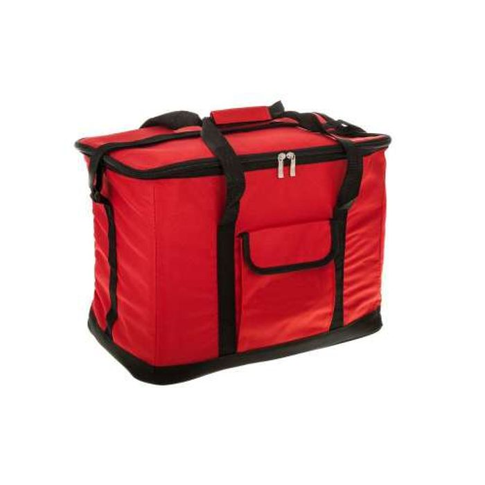 Redwood Large 30L 60 Can Insulated Cooler Bag - Red