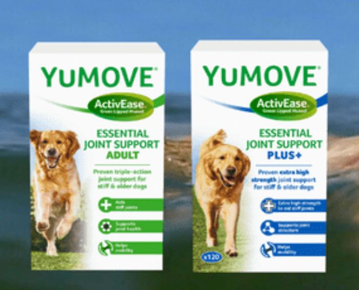 YuMOVE For DOGS - Two Week Trial Pack With Free P&P + Discount Voucher