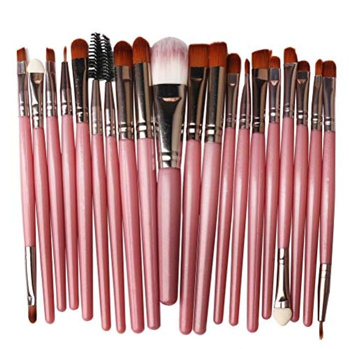 Nuoshen 20Pcs Make up Brush Set