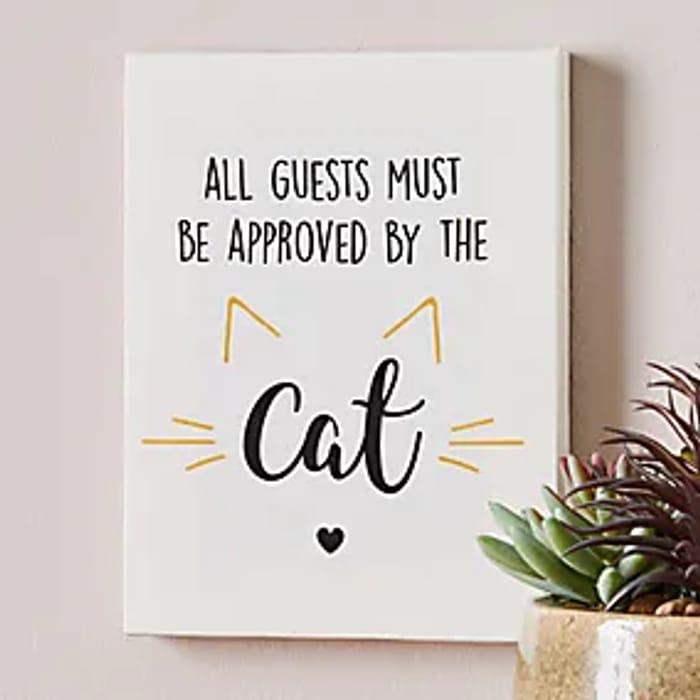 Cat Mini Canvas