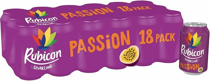 Rubicon Sparkling Passion Fruit 18 X 330ml