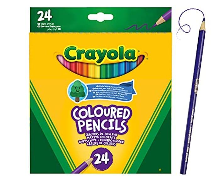Crayola - 24 Crayola Coloured Pencils