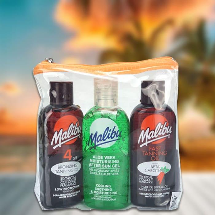 Triple Pack Aloe Vera after Sun,fast Tanning & Bronzing Oil 100ml Bottles