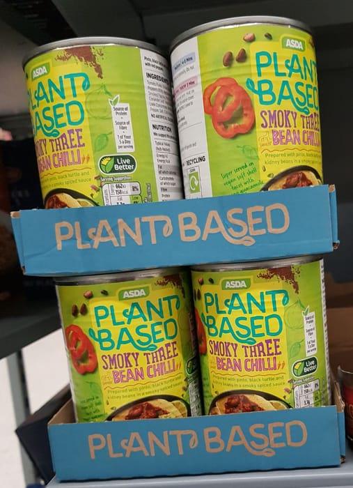 ASDA Asda Plant Based Vegetable Chilli  392g