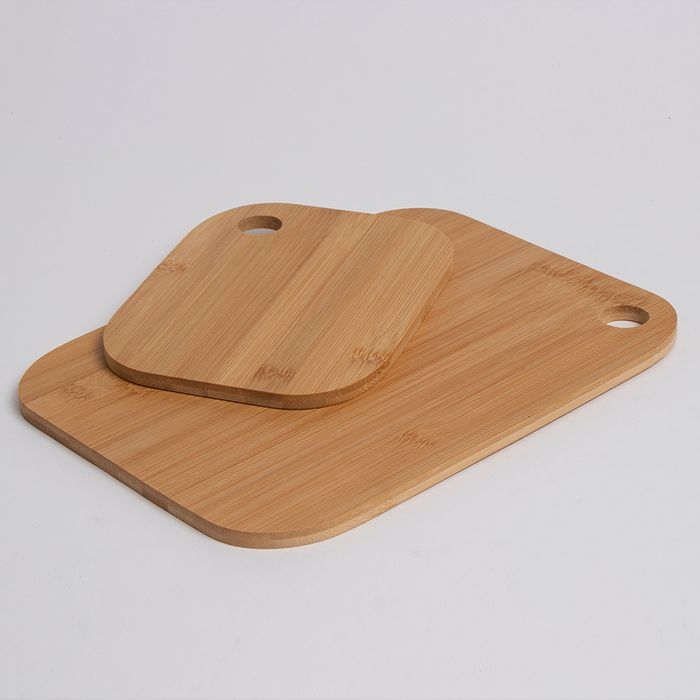 Bamboo Chopping Board 2-Pack