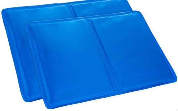 SPICOM 2 X Cooling Gel Pillows LARGE Magic Multi-Function - Only £8.99!
