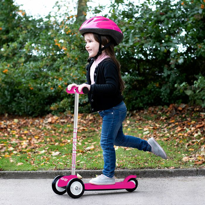 EVO: Move 'N' Groove Scooter - Pink and Blue