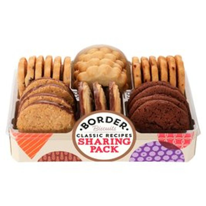 Border Biscuits Sharing Pack 400G - Only £2.50!