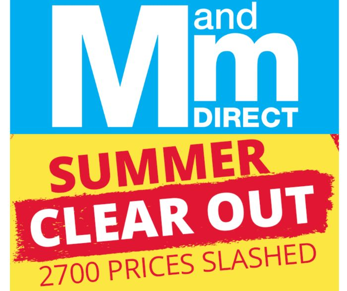 CHEAP! MandM Direct MEGA Summer Clearance - Inc. Calvin Klein, Superdry & Adidas
