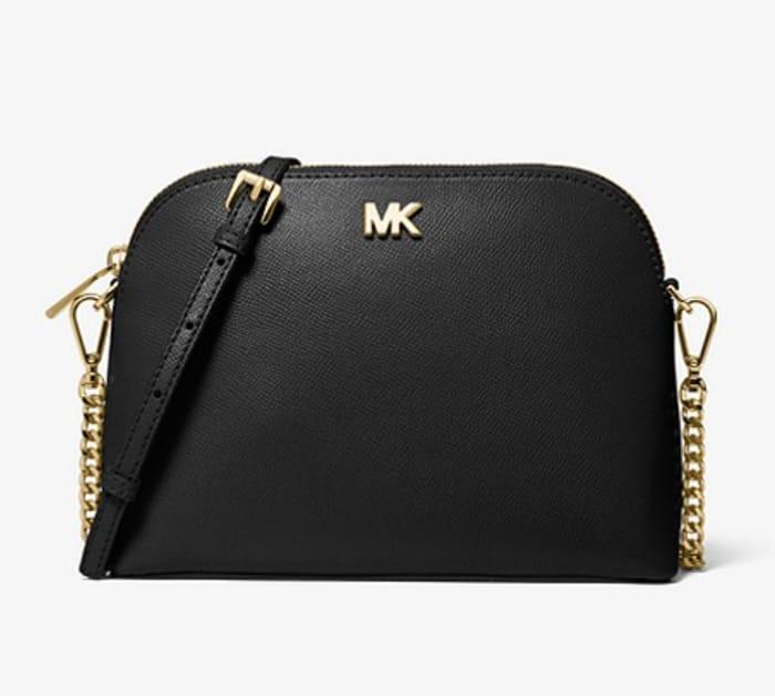 Michael Kors Black Leather Crossbody Bag Only £88 Delivered
