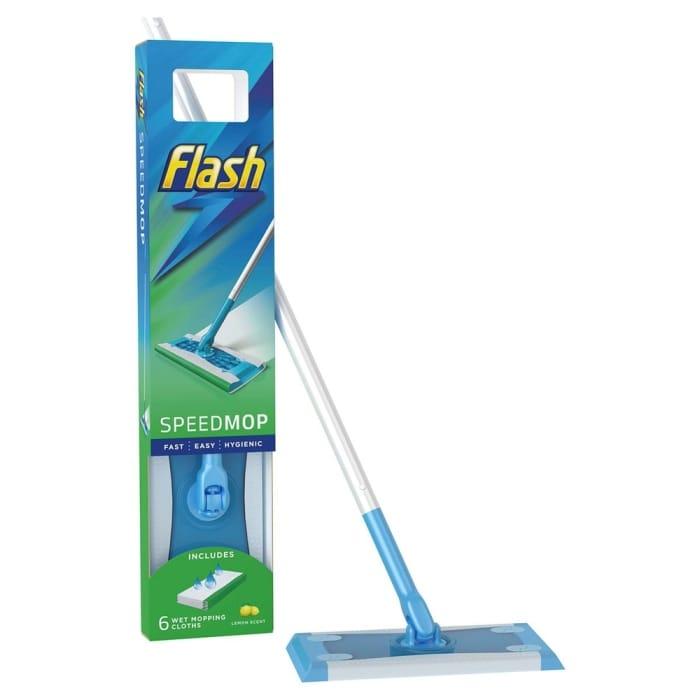 Flash Speedmop & 6 Speedmop Cloths Available Online &In Store