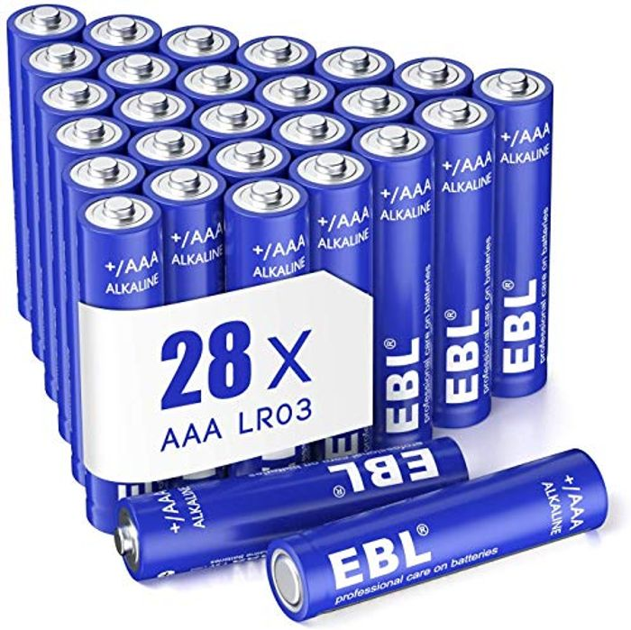 (28 Count) - 1.5V Triple a Long-Lasting Alkaline Battery with Long-Life