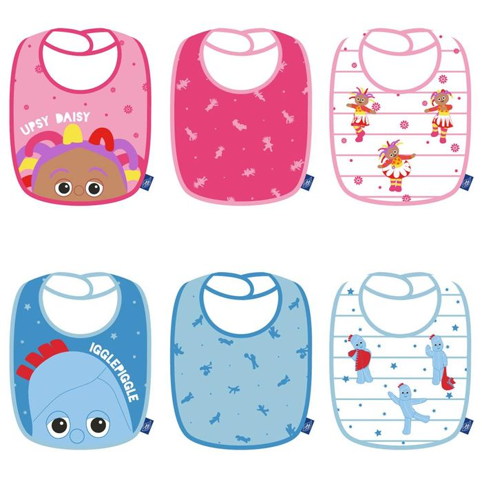 Cheap 3 In the Night Garden Babies Bibs at Home Bargains