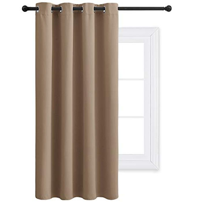 PONY DANCE 54 Drop Thermal Insulated Window Curtain Panel - Only £3.18!