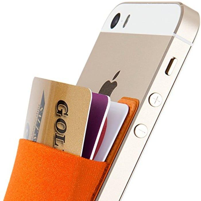 DEAL STACK - Sinjimoru Stick-on Wallet Functioning Card Holder + 15% Coupon