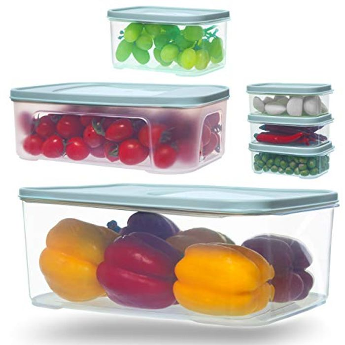 Citylife Set of 6 Food Storage Containers