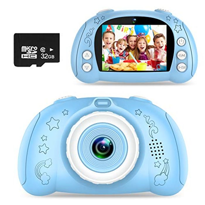60% Voucher-WOWGO Kids Camera with 32gb SD Card