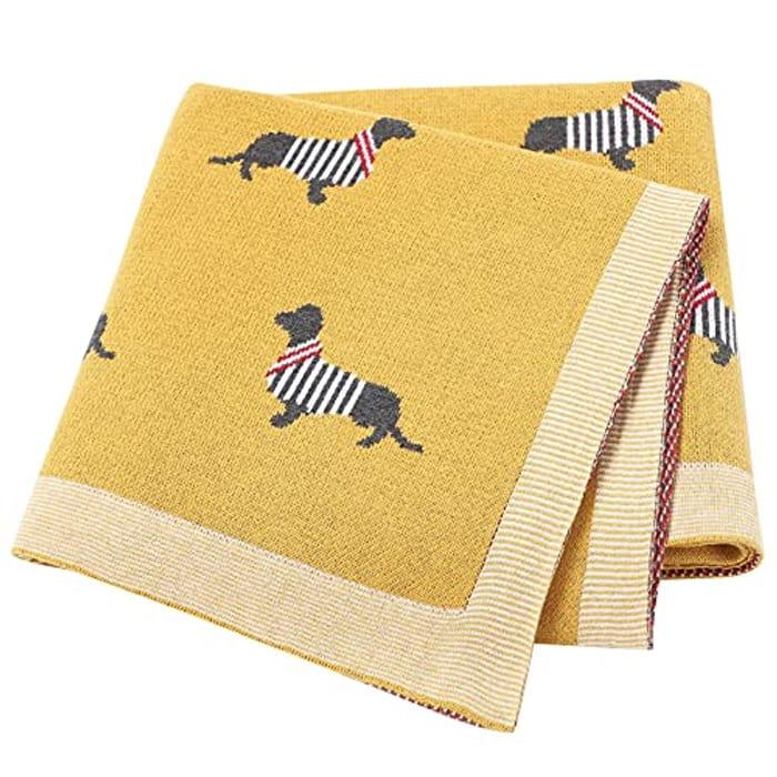 Baby Blanket Knitted Blankets Newborn Essentials - Only £12.59!