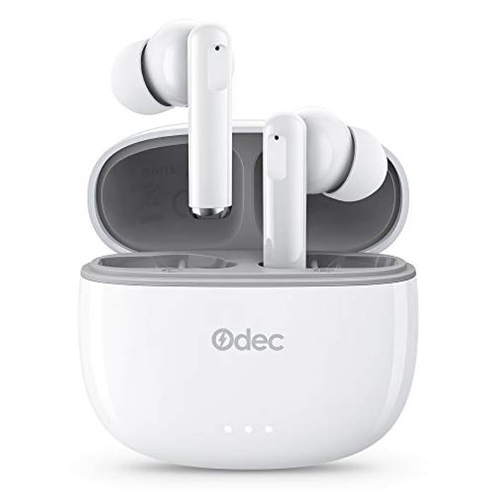 Wireless Earbuds Bluetooth 5 Headphones Deep Bass - Only £8!