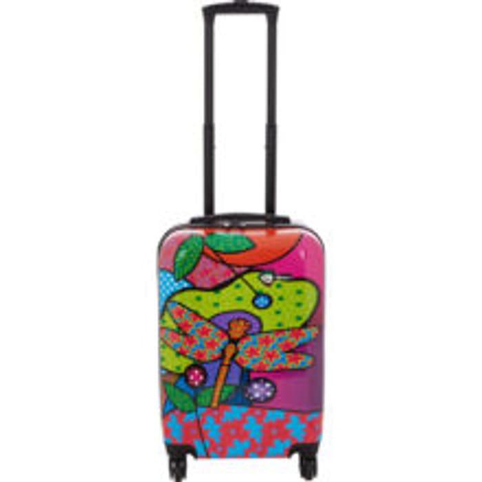 MIA TORO Small Multicolour Pop Dragonfly Suitcase