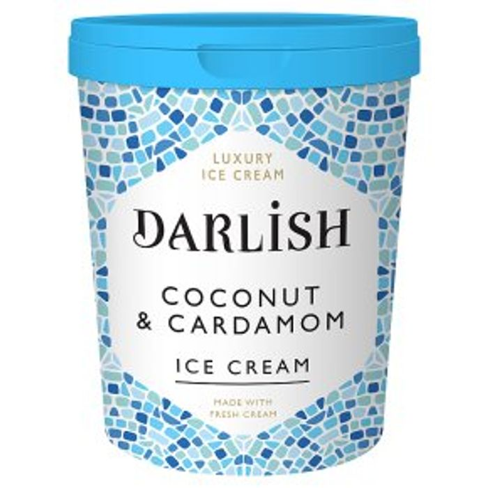 Darlish Coconut & Cardamon Ice Cream