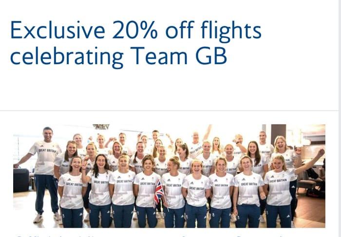 20% off Flights