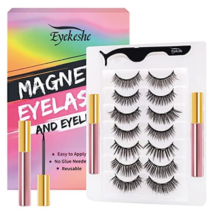 EYEKESHE 7 Pairs Magnetic Eyelash Kit