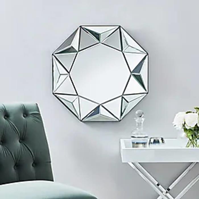3D Geo Wall Mirror 60cm