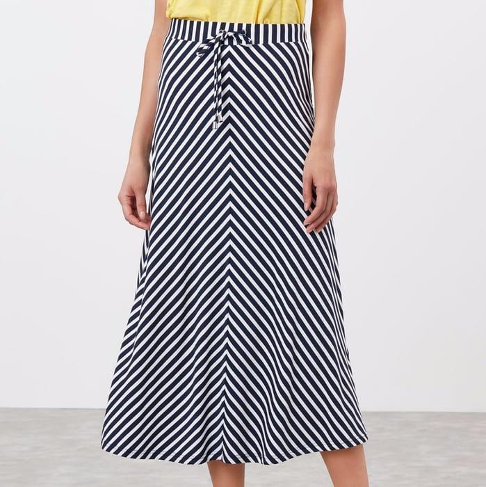 Auriel Chevron Skirt