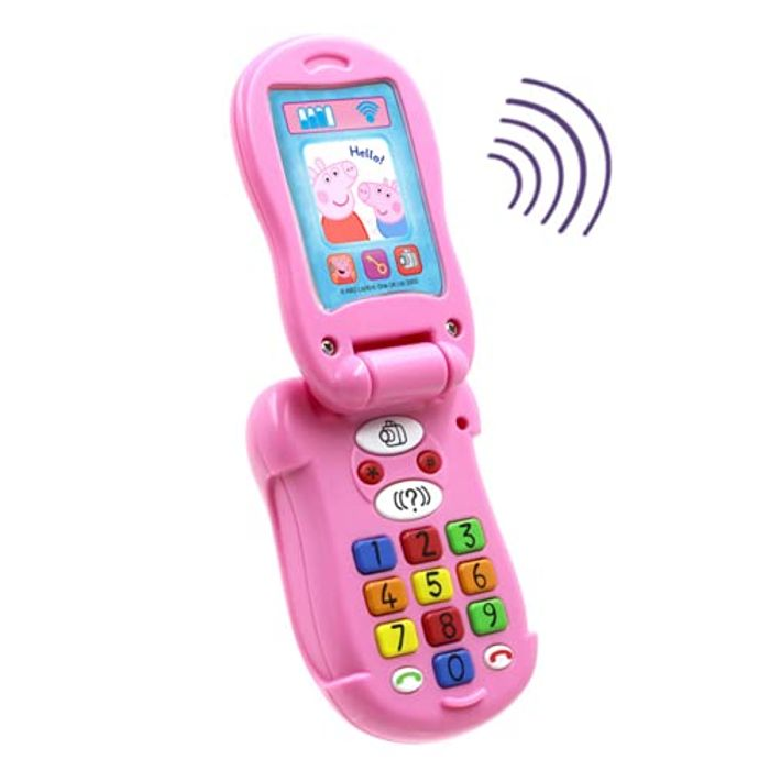 Peppa Pig None Flip & Learn Phone, Multi