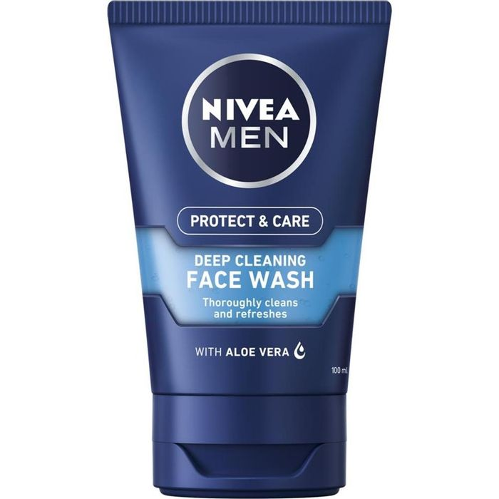Nivea Men Protect & Care Deep Cleaning Face Wash 100ml