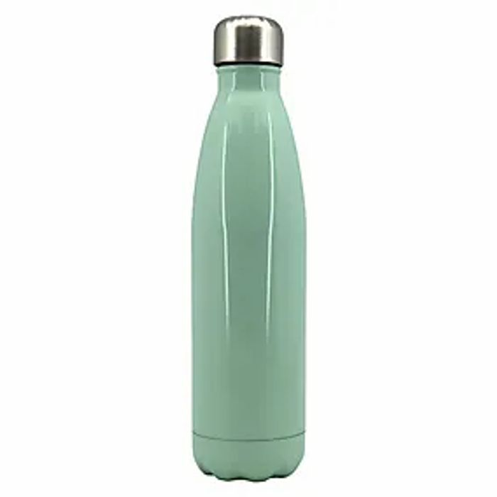 500ml Stainless Steel Water Bottles 4 Colours - £3.50 Free C&C At Dunelm