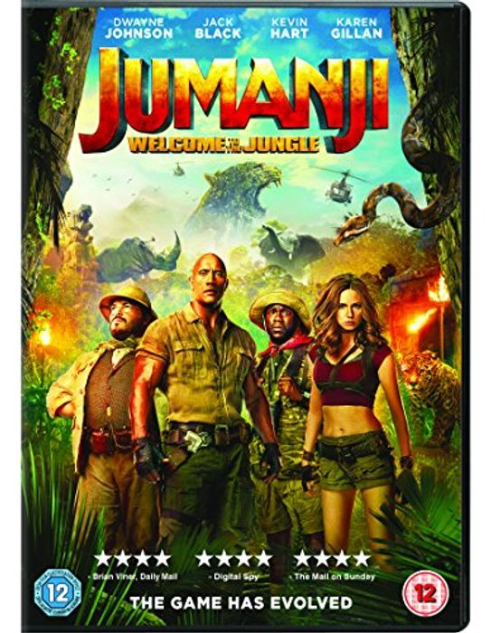 Jumanji: Welcome to the Jungle - Only £1.56!