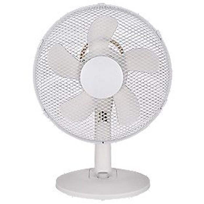"Best Price! GoodHome Aoba 13"" Desk Fan 220-240V at Screwfix"
