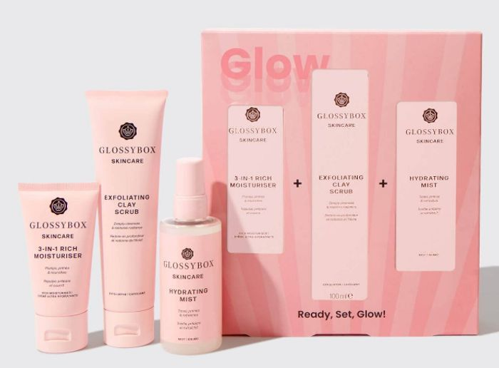 GLOSSYBOX Skincare Get up & Glow Set