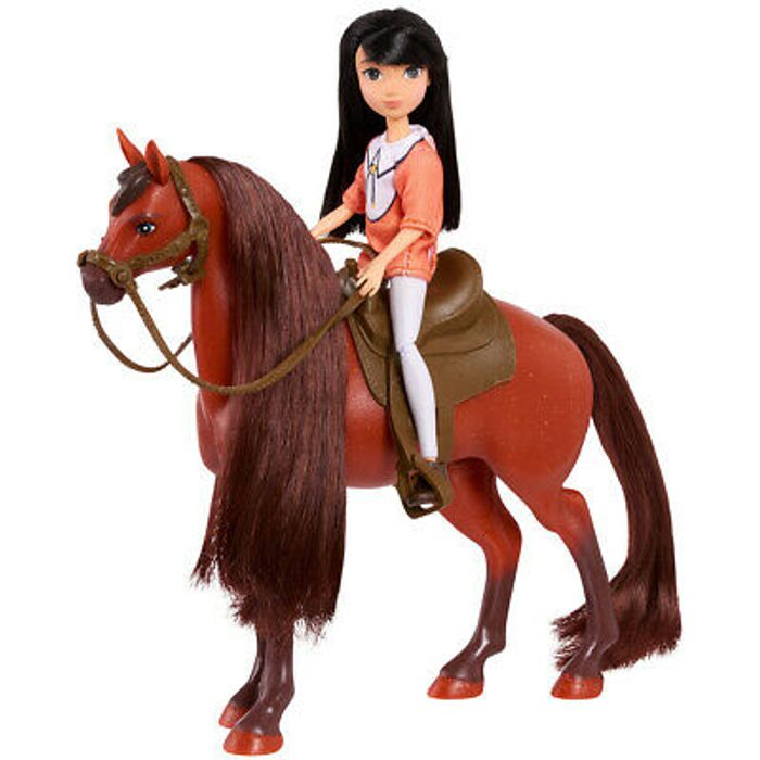 DreamWorks Spirit 17cm Horse - Ursula & Bing Cherry