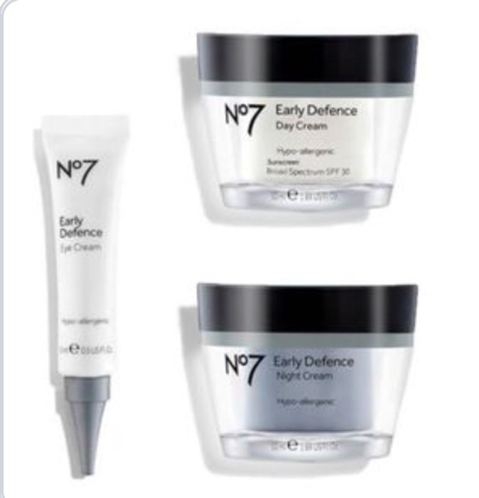 No7 Early Defence Day Night Cream 50ml ,Eye Cream 3For 2,£10 Each