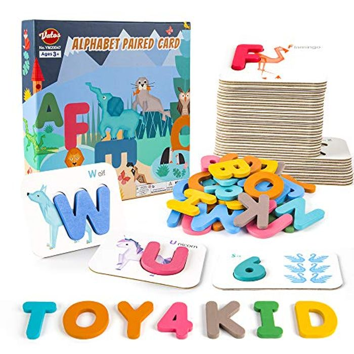 Better than Half Price! VATOS Number and Alphabet Flash Cards for Toddlers