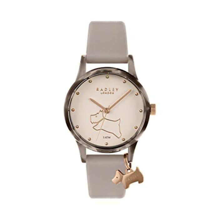 Radley Ladies Watch It! Pink Silicone Strap Watch