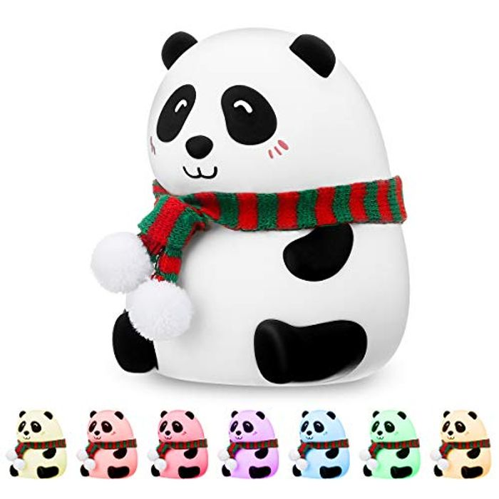 60% off Silicone LED Panda Lamp