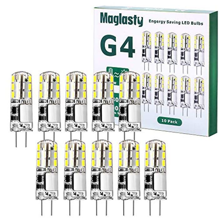 G4 LED Bulbs, 1.5W 12V Mini Capsule Light Bulb - Only £3.89!