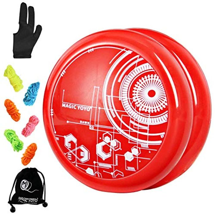 YOSTAR Magic Looping Yoyo for Kids with 5 Replacement Strings with £7 off Coupon