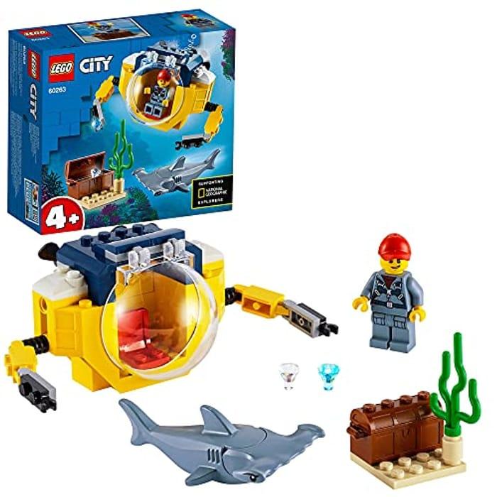 LEGO City Oceans Mini-Submarine Deep Sea Underwater Set - Only £5.25!