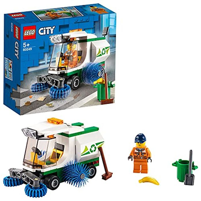 City Great Vehicles LEGO Street Sweeper Garbage Truck Toy - Only £4.50!