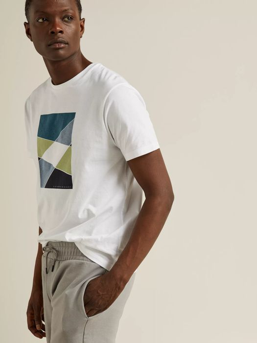 Kin Location Graphic T-Shirt, White