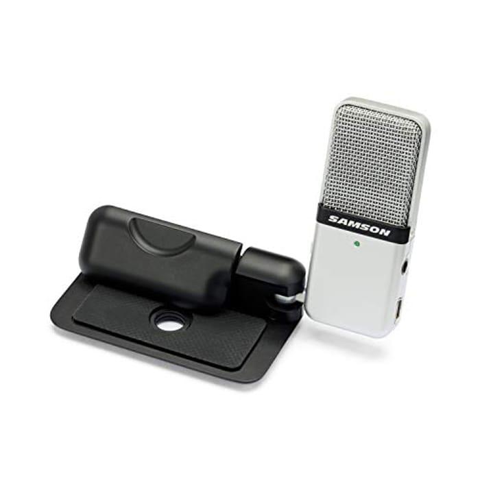 SAMSON Go Mic Clip on USB Microphone - Now £37.95!