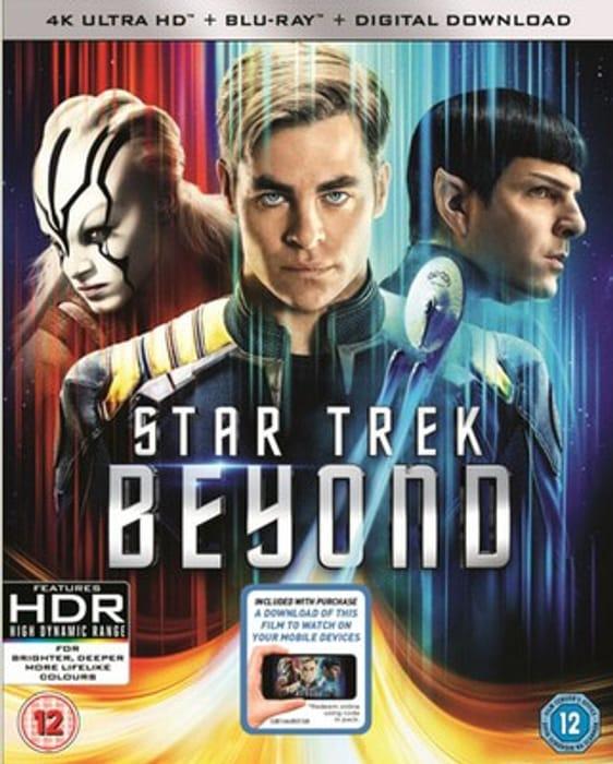 Star Trek beyond 4K UHD - Only £6.09!