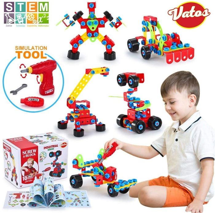 552 PCS Educational Construction Engineering Toys Blocks Set