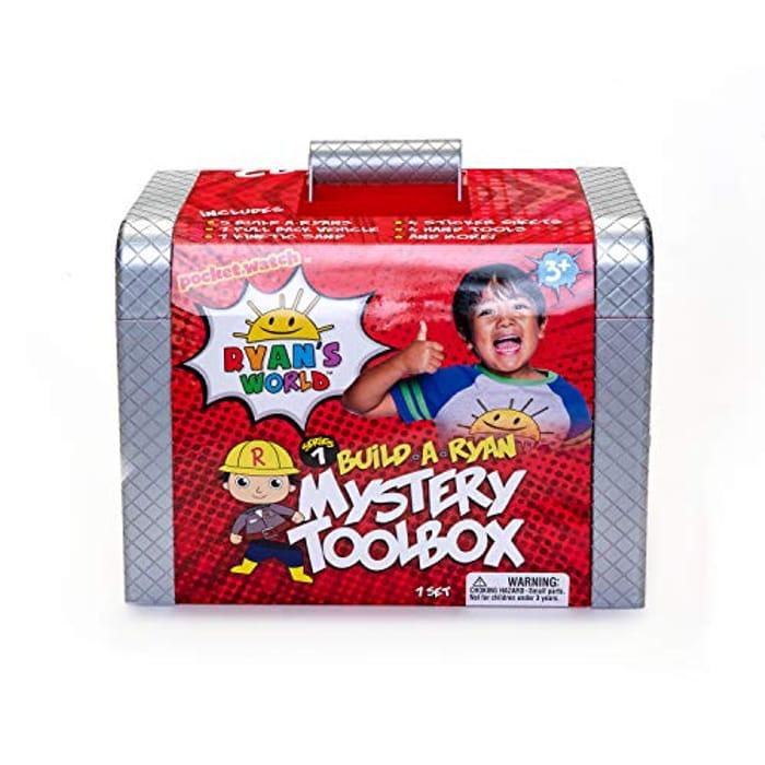 Ryan's World BK10799 Ryan's Mystery Tool Box - Only £12.28!